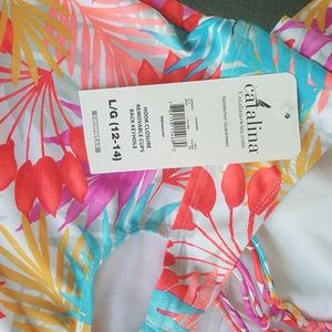 Catalina Swim - Catalina bright print tankini top. NWT